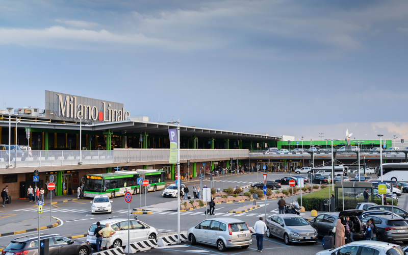 Milan Linate Airport is the third international airport of Milan, Italy.